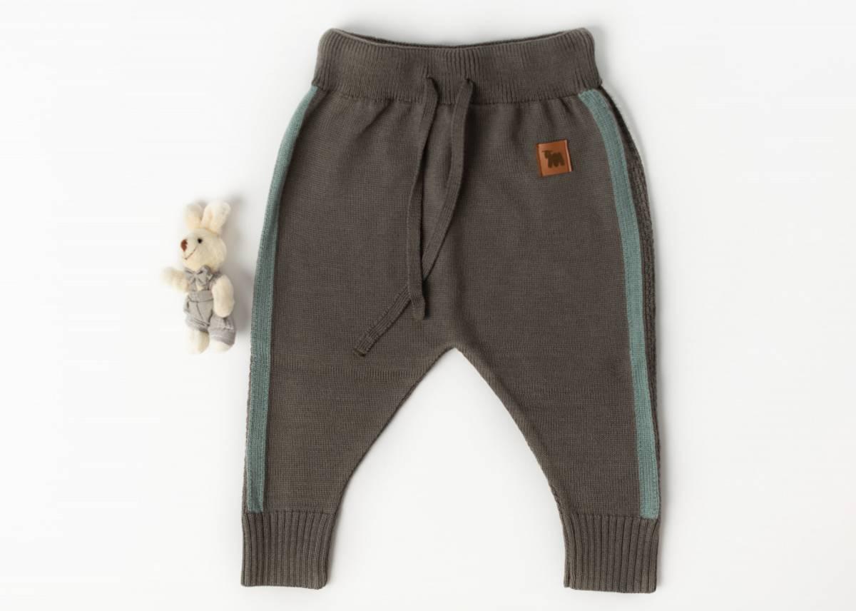 Bukse Churra i merinoull, brun